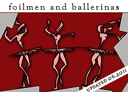 foilmen and ballerinas